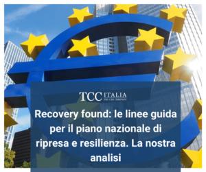 recovery fund e sostenibilità